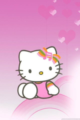 Cute pink hello kitty wallpaper for iphone wallpapers for pc and iphone hello kitty hello kitty wallpaper voltagebd Gallery