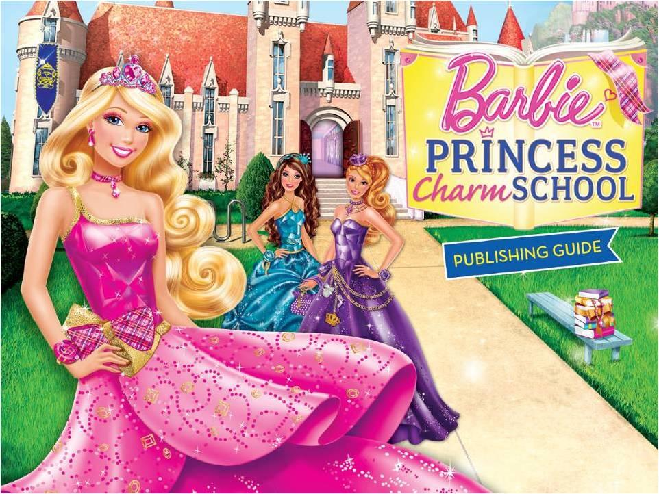 Em Barbie Escola De Princesas Barbie Interpreta Blair Uma Garota