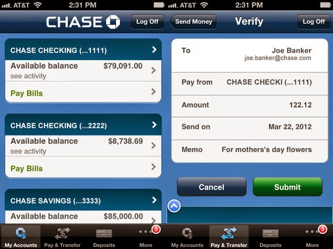 For a better experience, download the Chase app for your iPhone or Android. Or, go to System Requirements from your laptop or desktop. Close this message. Digital Banking Features. Navigation. Submit To Search. Clear Search Term. Chase Online SM Bill Pay – Pay rent, mortgage, utilities, credit cards, auto, and other bills.