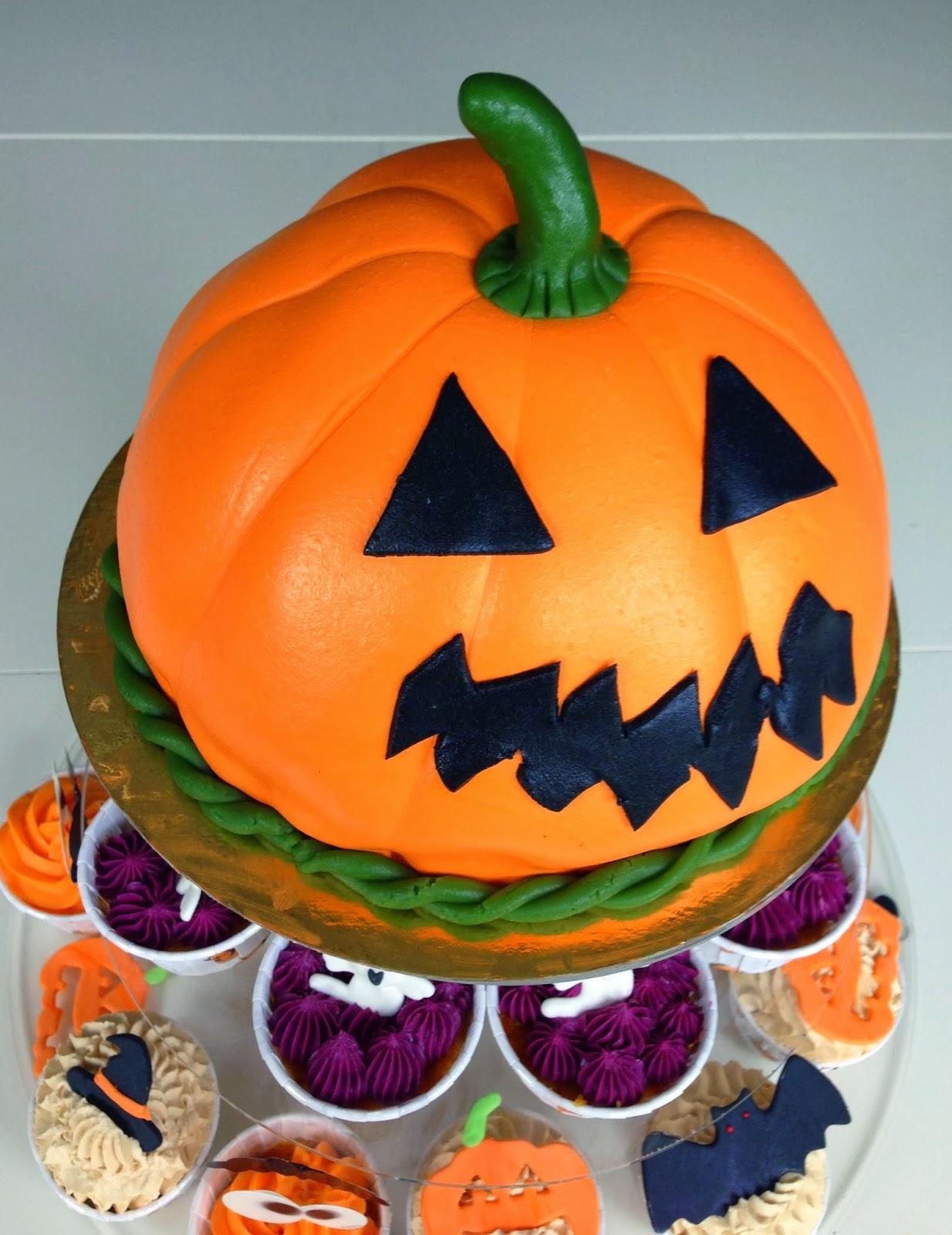 Tårta till Halloween