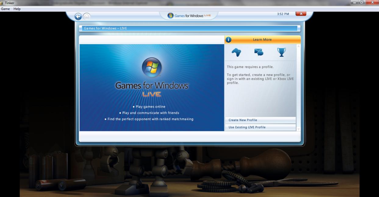 Cara mengatasi update Win 8 yang tidak bisa main game menggunakan Windows Live