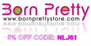 Born Pretty Store'dan Okuyucularıma özel  %5'lik Indirim!
