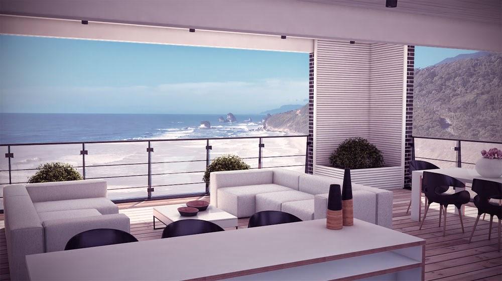Plantas de casas modernas for Casa moderna 7 mirote y blancana
