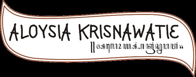 ..aloysia krisnawatie..