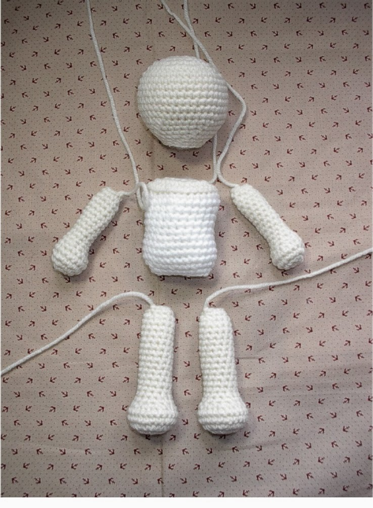 Basic Crochet Patterns : Free Crochet Doll Pattern - 2016-2017 Bathroom Vanities, Chandeliers ...
