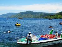 Beautiful Toba Lake North Sumatra in Indonesia