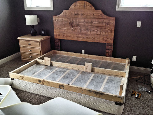 Furniture Legs On Box Spring