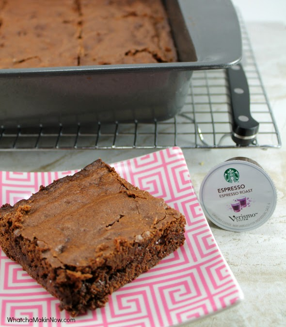 Fudgy Chocolaty Brownies - uses Espresso to make extra decedent!