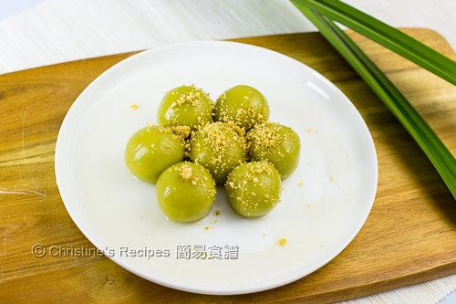 班蘭湯圓 Pandan Dumplings03
