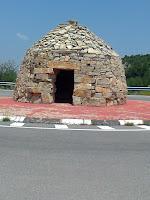 Rotonda en la cima del Port del Collao