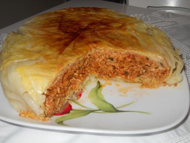 lahana pastası tarifi