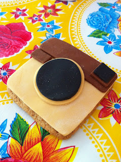 Instagram fondant cookie koekje DIY