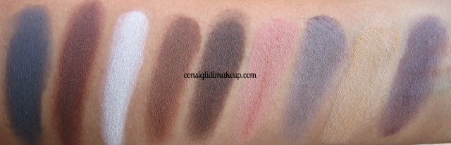 swatches meet matte nude the balm