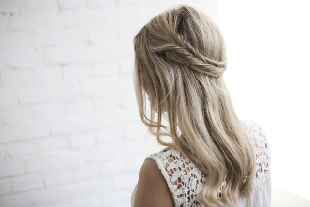 Simple Straight Hair Designs