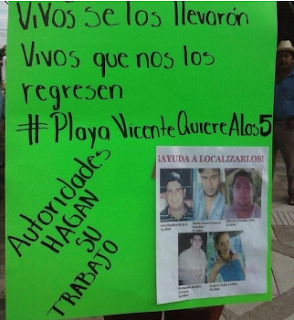 Gendarmería Nacional vigila casa en Oaxaca por caso de los 5 jóvenes desaparecidos en Tierra Blanca
