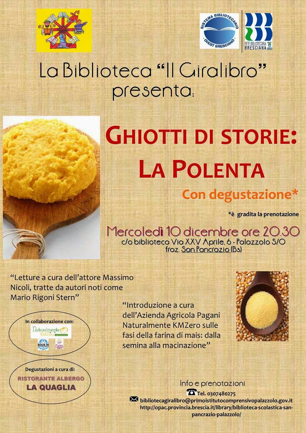 Ghiotti di storie: la polenta
