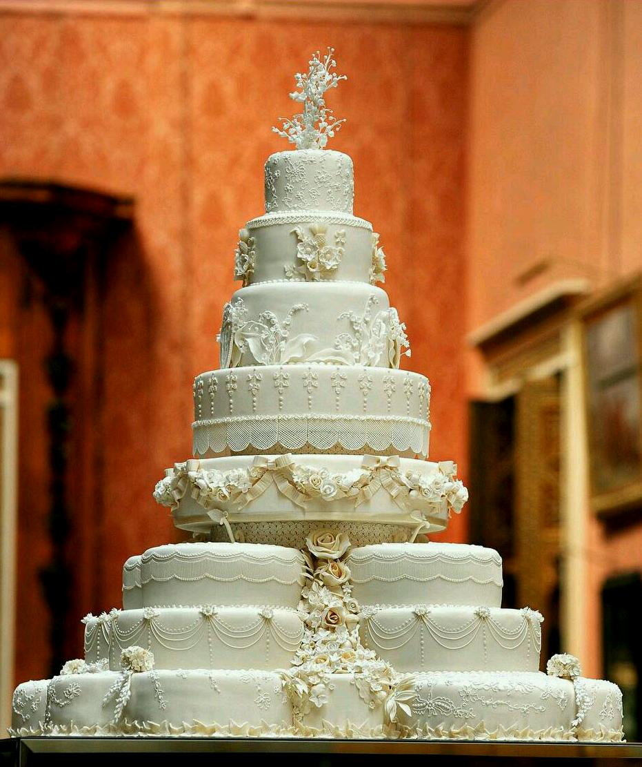 Dreamer With No Goals In The Horizon The Royal Wedding Cake