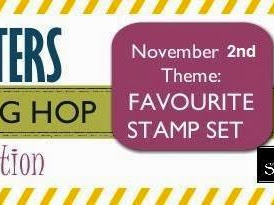 Crazy Crafters' November Blog Hop - Favourite Stamp Set