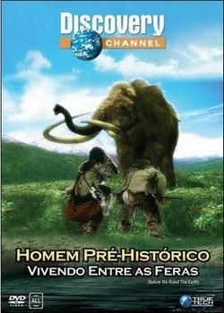Filme Poster Homem Pré Histórico Vivendo Entre As Feras DVDRip RMVB Dublado