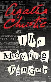 Cover of The Moving Finger by Agatha Christie