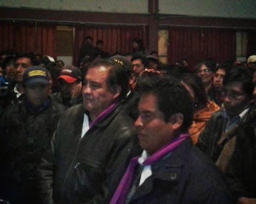 Elecciones rectorales UPEA 2014