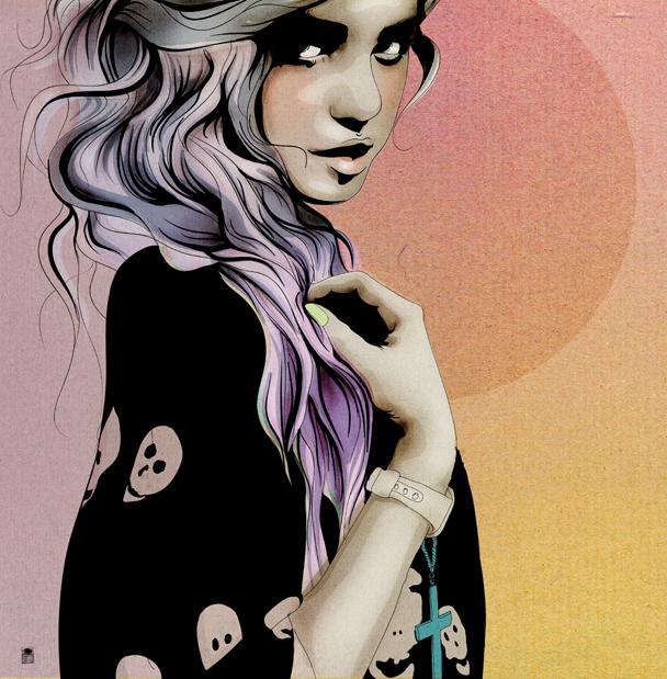 nuncalosabre. Ilustración - Saskia Schnell