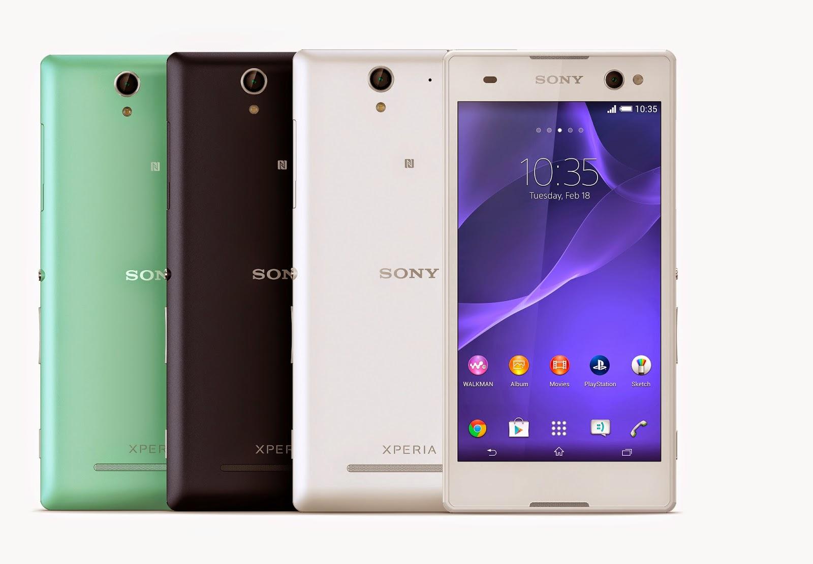 Harga dan Spesifikasi Sony Xperia C3