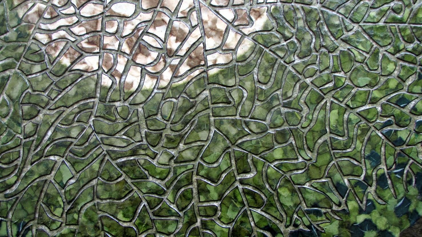 Patronen en structuren katja berkenbosch paper art - Kamer van mozaiekwater ...