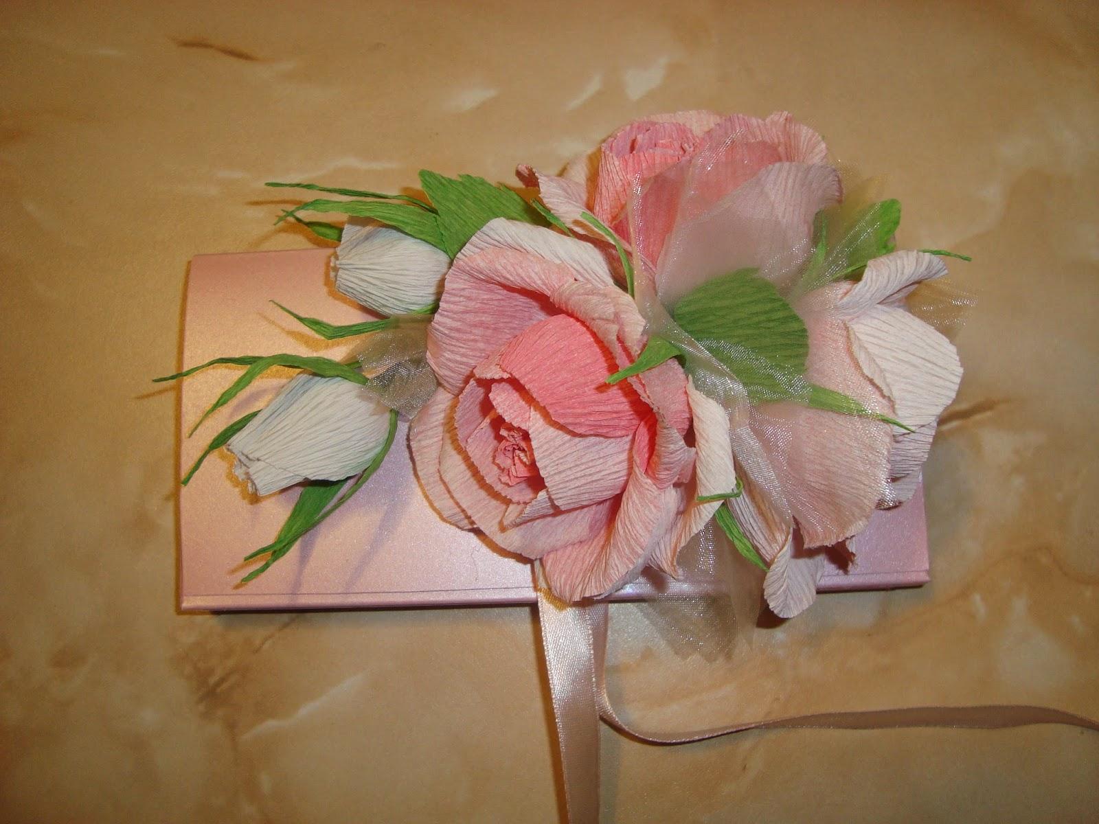 Подарки из гофрированной бумаги фото