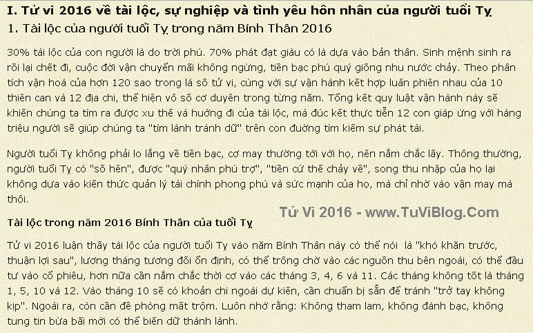 Van Menh Nguoi Tuoi Ty Nam 2016