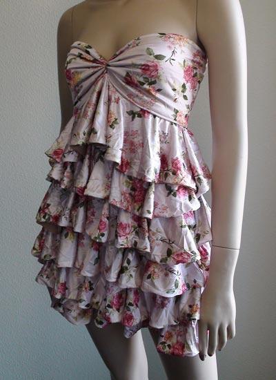 Fashion Style Magazine Ruffle Dress