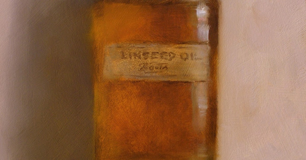 In Oil Painting Linseed Oil Acts As