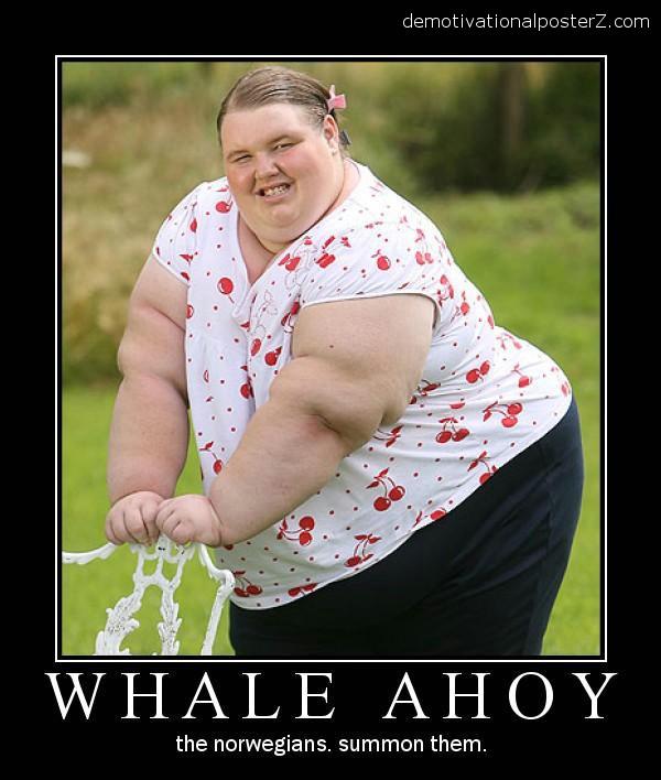 huge fat chick