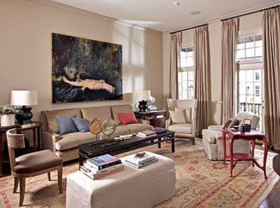 Traditional Home Living Rooms Decoration