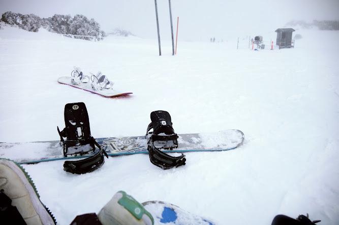 Snowboarding Thredbo 2014