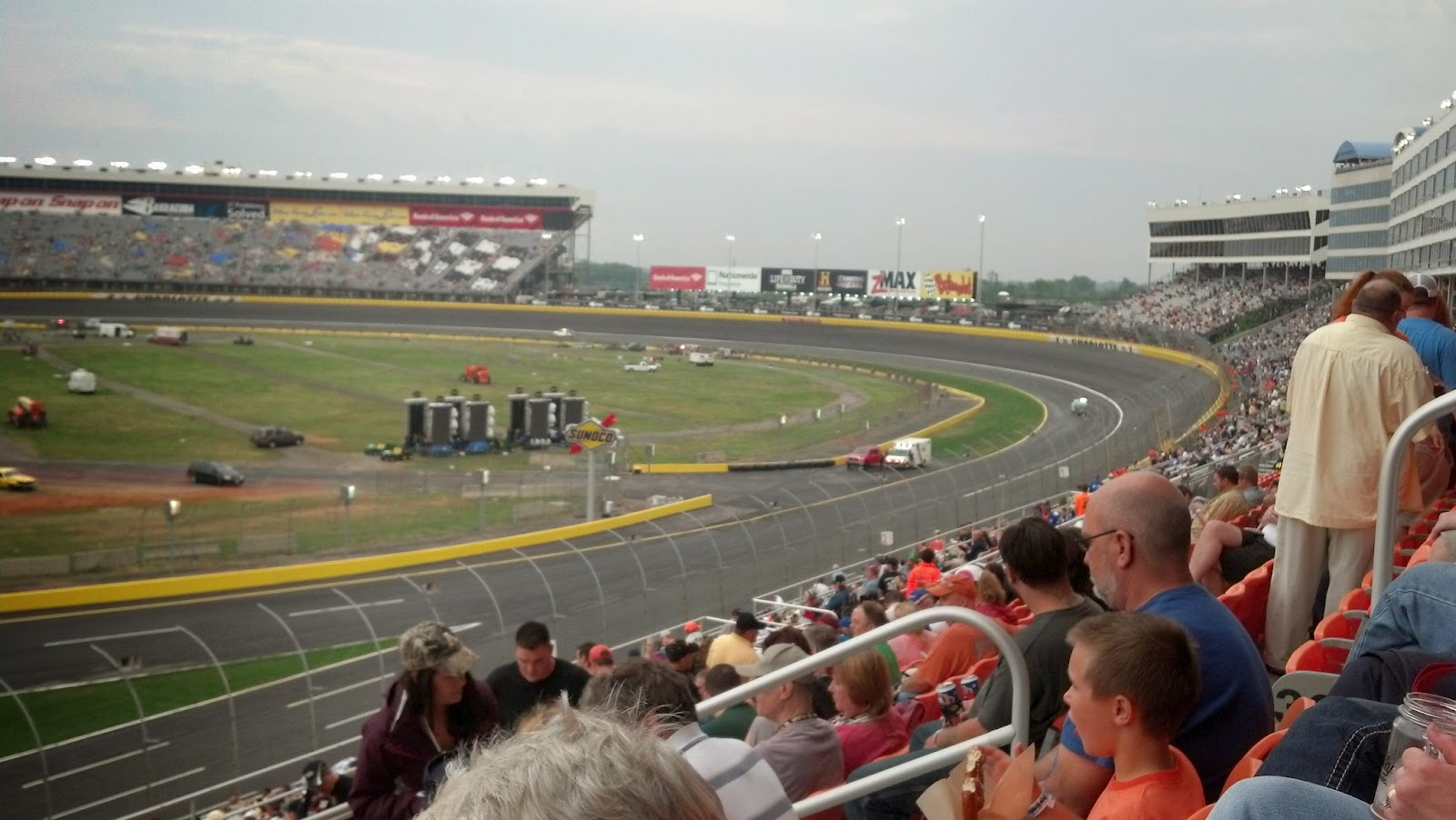 John becky 39 s excellent adventure may 19 2013 for Charlotte motor speedway ticket office