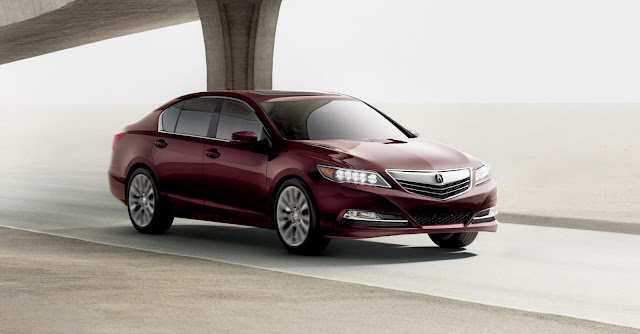 2014 Acura RLX Right View 2