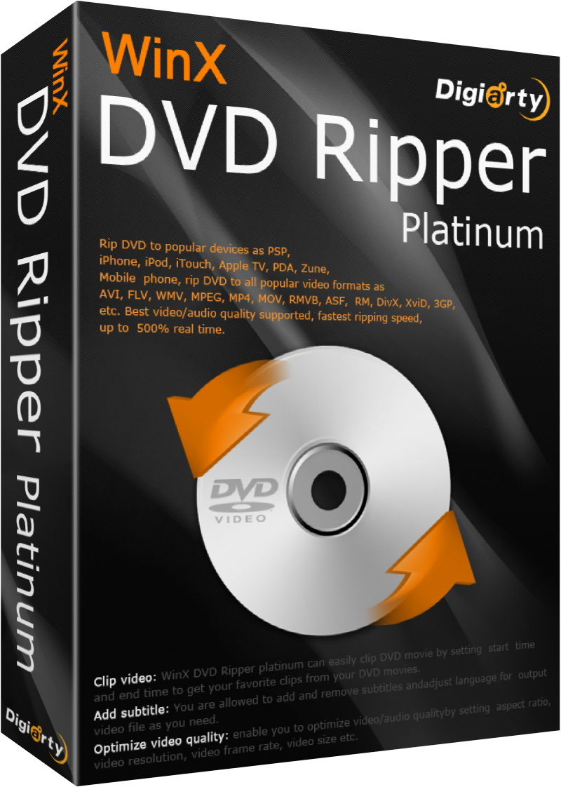 WinX DVD Ripper Platinum 7.5.5.128 x86/x64 – PT-BR