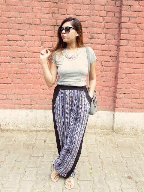 Straight Leg Printed Trouser, femella, summer must haves, summer fashion trends 2015, how to style plazzo pants, aztec printed plazzo, indian fashion blog, boho style outfit, coin necklace, casual outfit, beauty , fashion,beauty and fashion,beauty blog, fashion blog , indian beauty blog,indian fashion blog, beauty and fashion blog, indian beauty and fashion blog, indian bloggers, indian beauty bloggers, indian fashion bloggers,indian bloggers online, top 10 indian bloggers, top indian bloggers,top 10 fashion bloggers, indian bloggers on blogspot,home remedies, how to