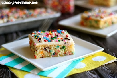 Funfetti Sheet Cake From Scratch in 30 Minutes