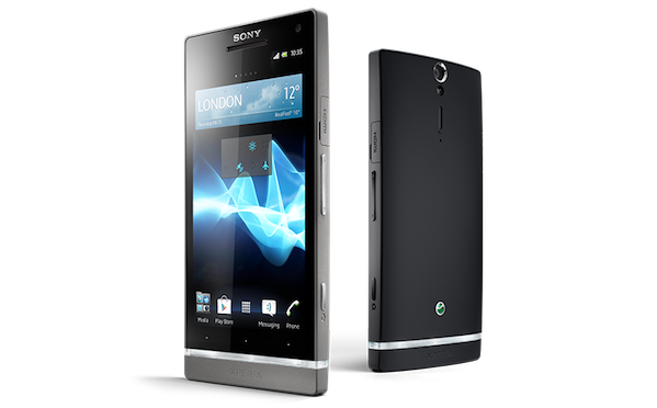 sony xperia sl specs features black colors