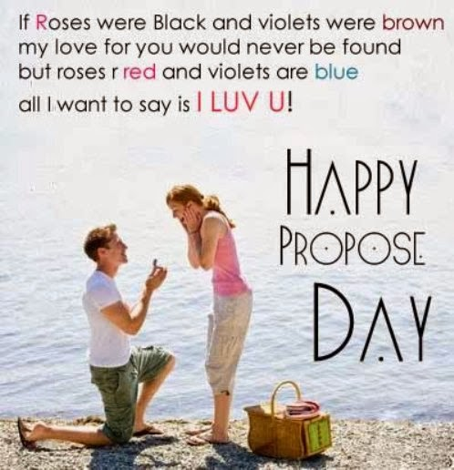 Happy Propose Day 2016 SMS Messages, Wishes, Greetings, Quotes