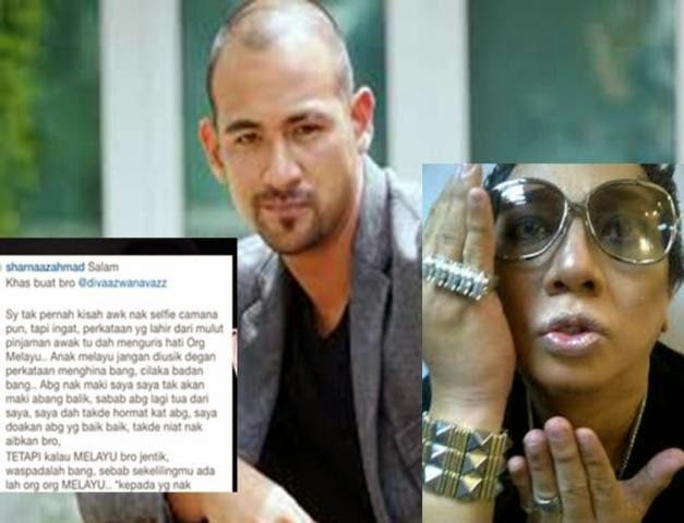 Gempar Hiburan Sharnaaz Ahmad Ingatkan Azwan Ali Jangan Usik Anak Melayu