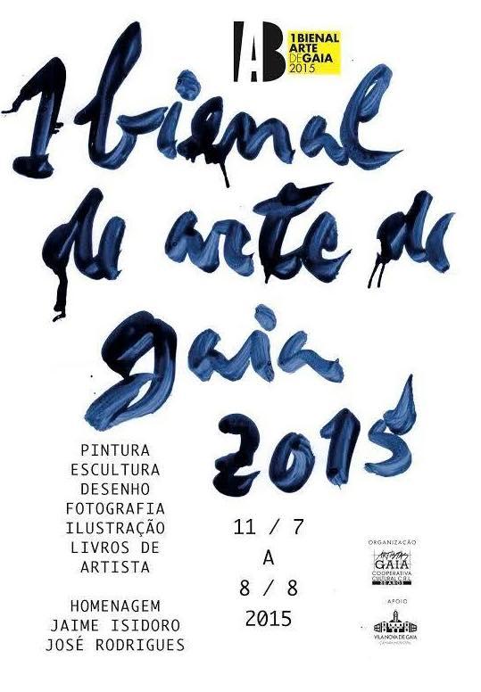 1ª BIENAL DE ARTE DE GAIA 2015