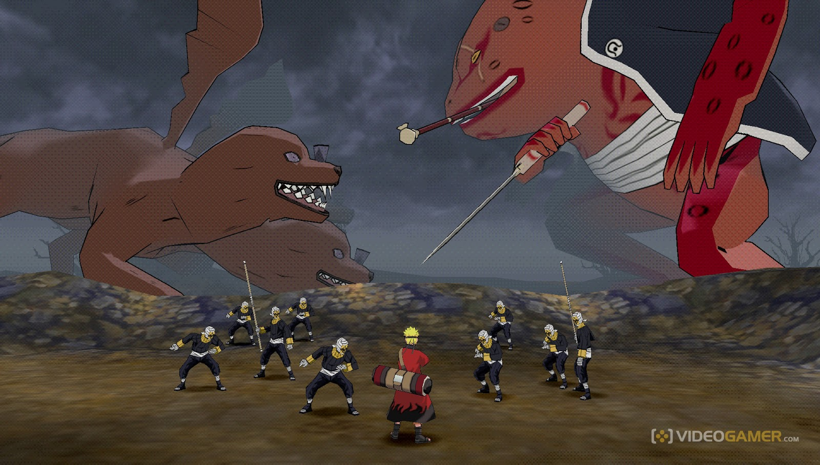 Naruto Shippuden Ultimate Ninja Impact [USA] - DMO Custom ...