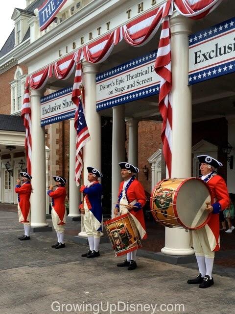 Spirit of America Fife & Drum Corps, Epcot