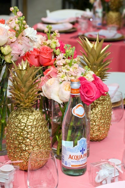 The glam pad an elegant palm beach baby shower by luxe