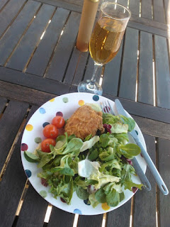 Birthday Lunch (Chicken, Salad and Sorelle)