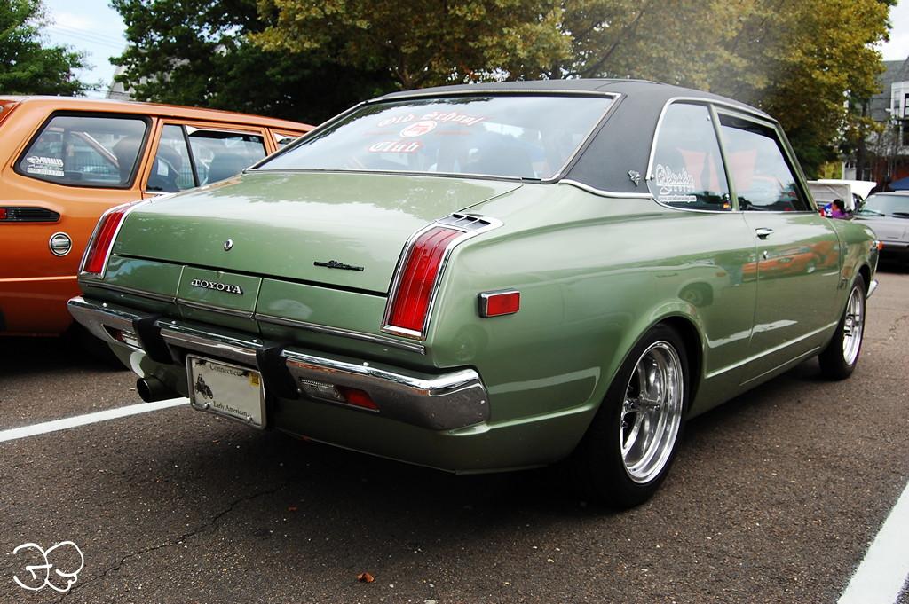 Toyota Carina I stary japoński samochód, coupe, klasyk, oldschool