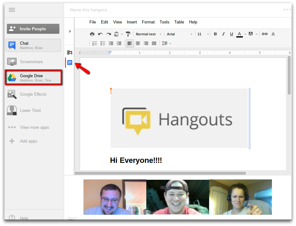 how to join a google hangout meeting